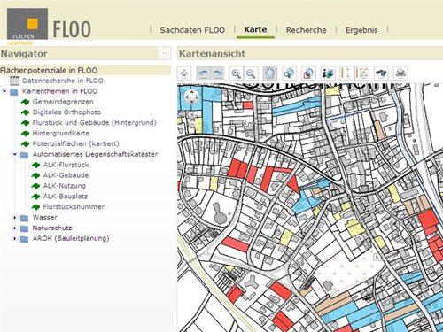 IfSR Flächenmanagement-Tool FLOO