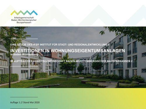 IfSR Studie Investitionen in Wohnungseigentumsanlagen