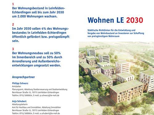 IfSR Handlungsprogramm Wohnen Leinfelden-Echteringen