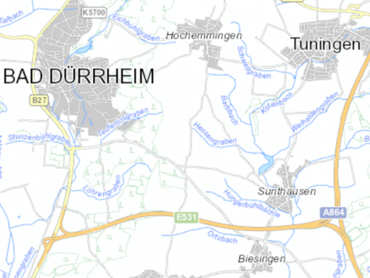Innenentwicklung und Flächenmanagement Bad Dürrheim